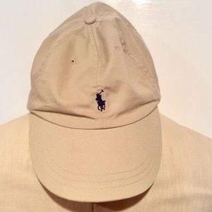 Polo by Ralph Lauren khaki ball cap